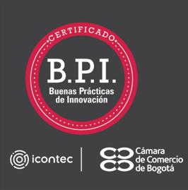 Certificado de buenas prácticas de innovación