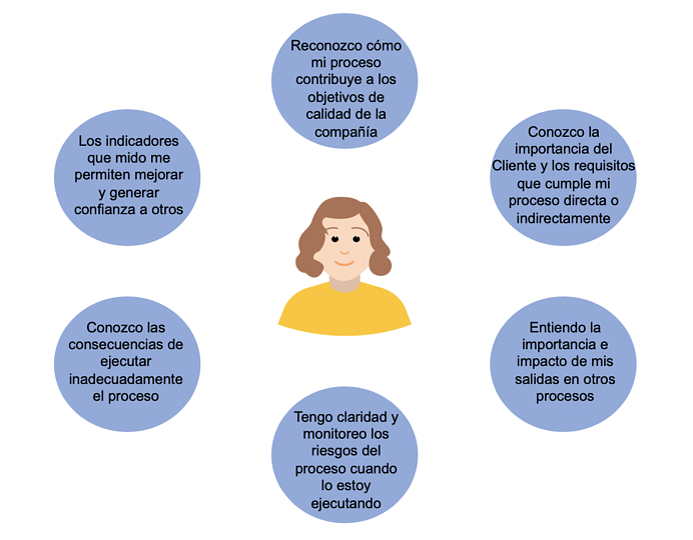 Conciencia procesos 7.3  ISO9001