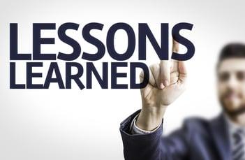 Lecciones aprendidas en la gestión de riesgos