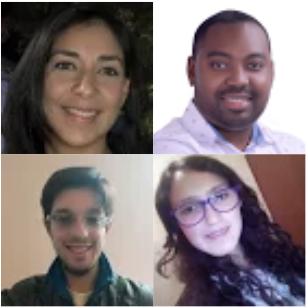 Carolina, Felipe, Laura y Steven`s